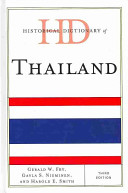 Historical Dictionary of Thailand (3rd Edition)