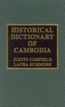 Historical Dictionary of Cambodia