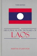 Historical Dictionary of Laos (3rd edition)