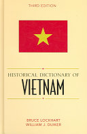 Historical Dictionary of Vietnam (3rd Edition)